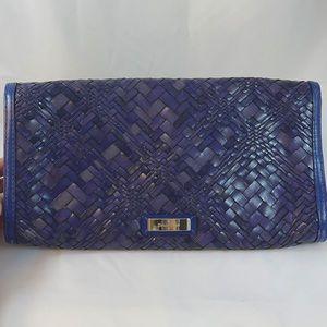 Cole Haan Genevieve Woven Clutch Bag